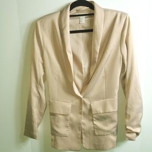 H&M Women's Size 8 Blush Color Blazer Jacket